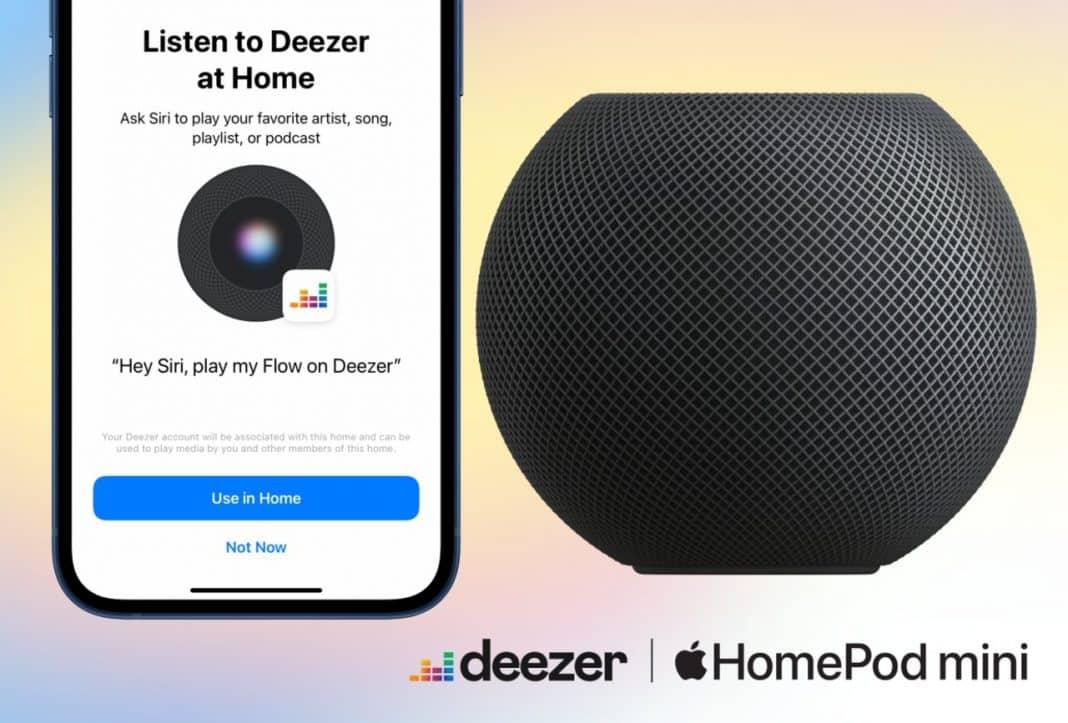 deezer homepod mini