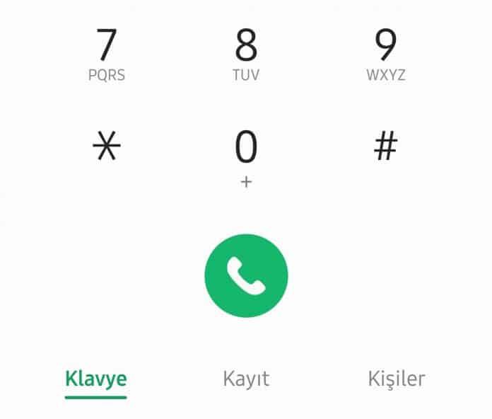 android telefon arama geçmişi silme