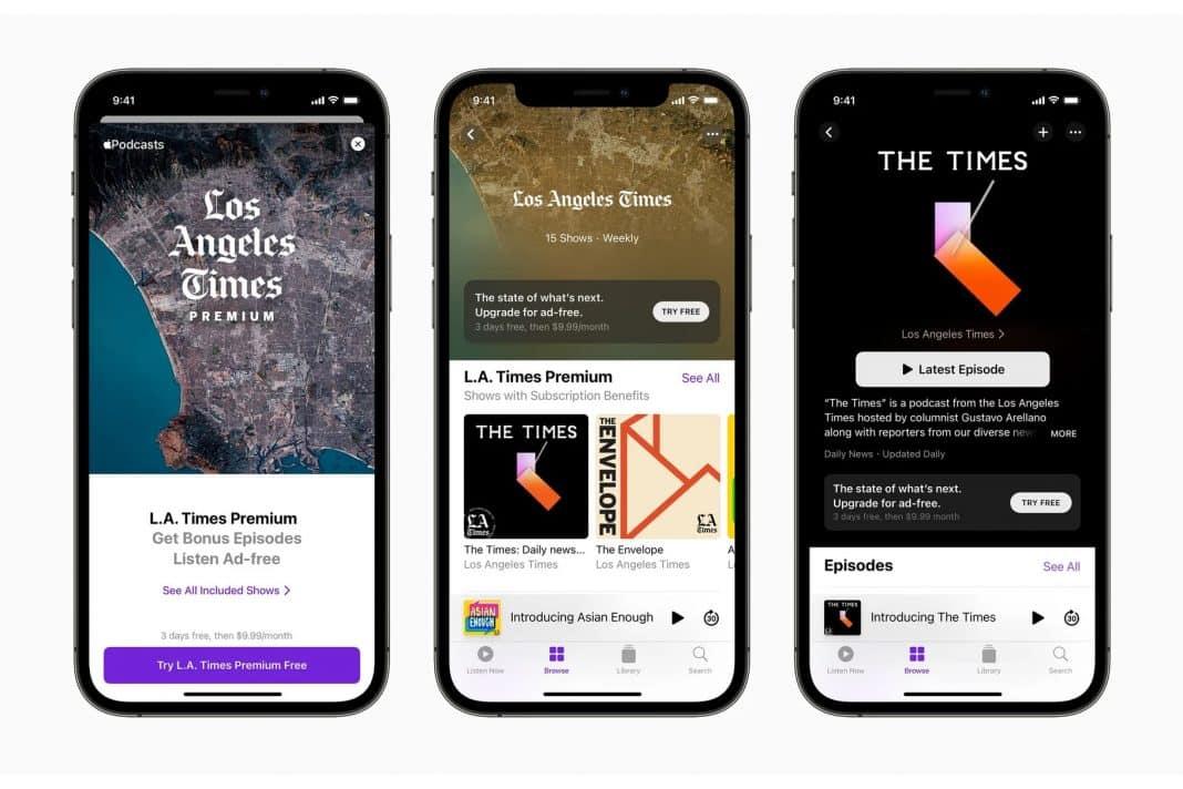 apple podcast abonelikleri