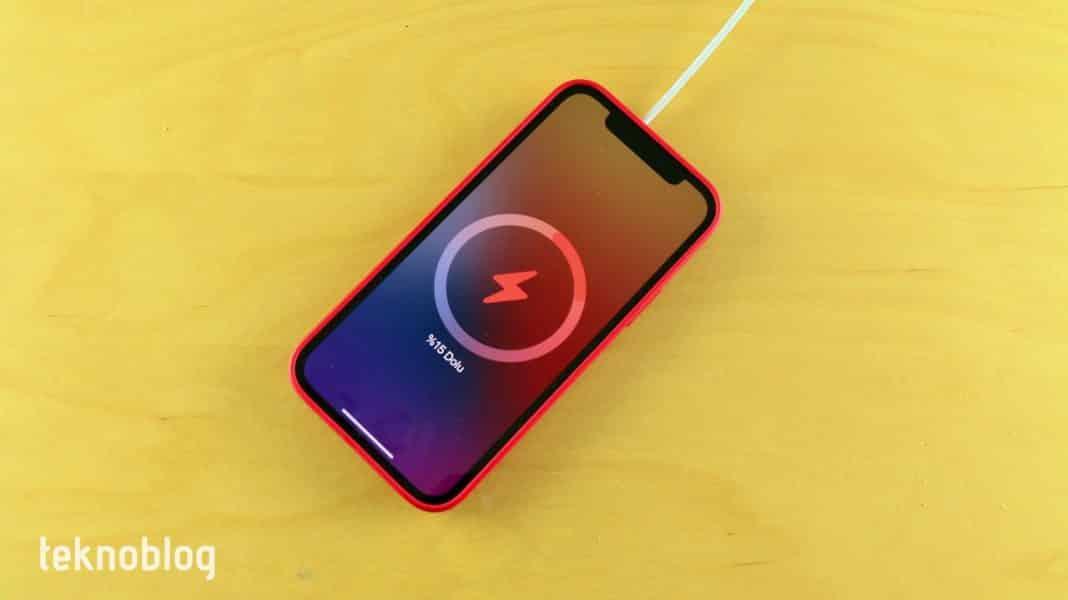 iphone 13 ters kablosuz şarj