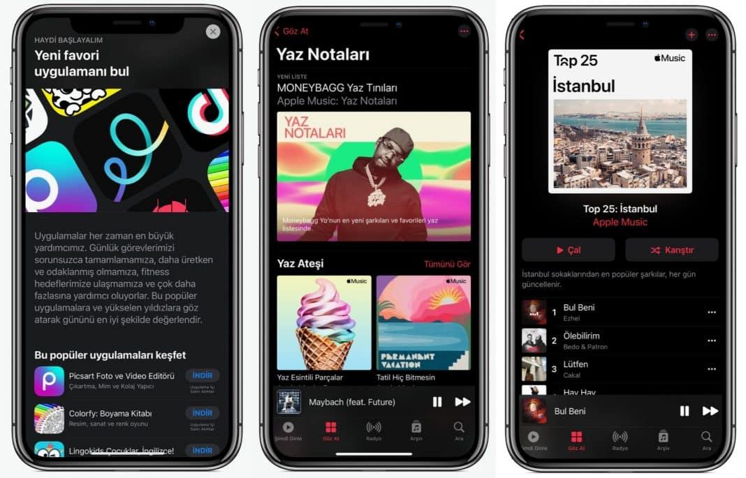 apple yaz için uygulama oyun podcast müzik tavsiyeleri