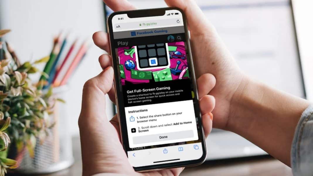 facebook bulut oyunları iphone ipad