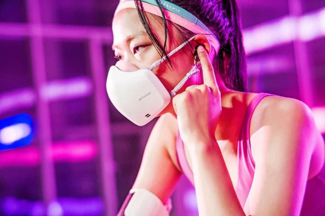 lg puricare giyilebilir hava temizleyicisi