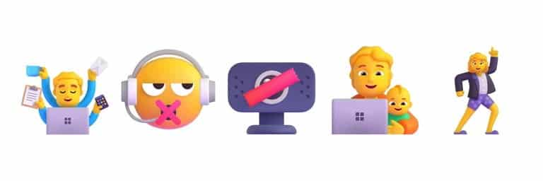 microsoft 365 emoji