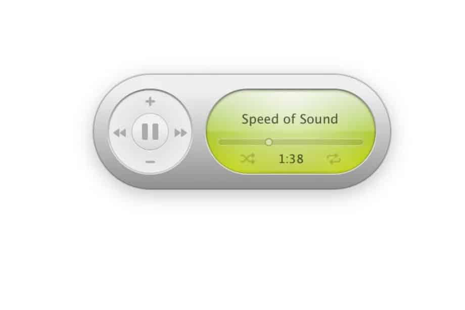music widget itunes