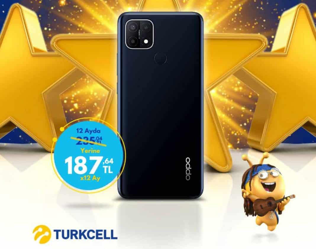 oppo a15 turkcell