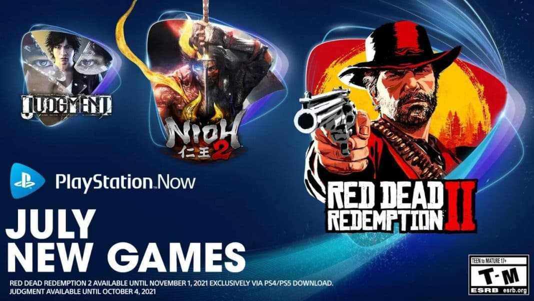 playstation now red dead redemption 2