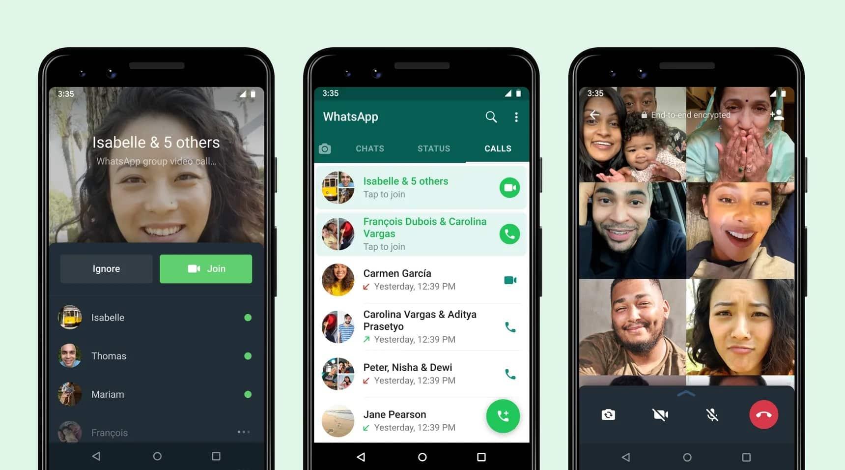 whatsapp grup görüşme