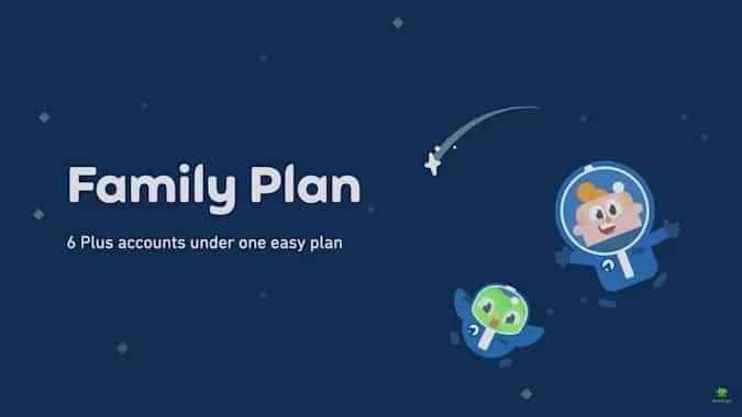 duolingo aile planı