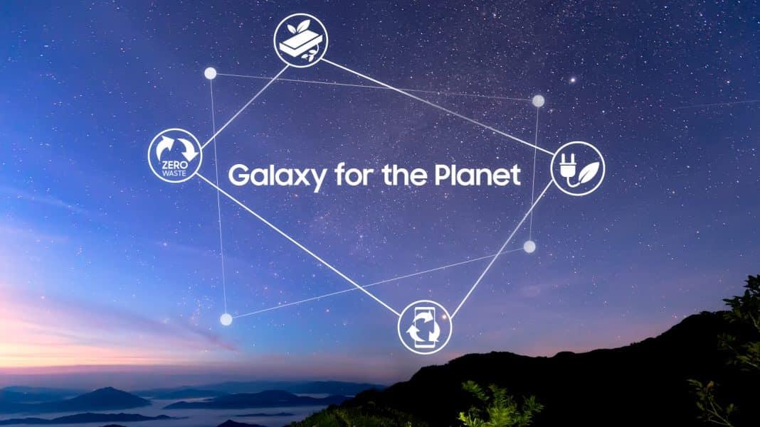 samsung gezegenimiz için galaxy