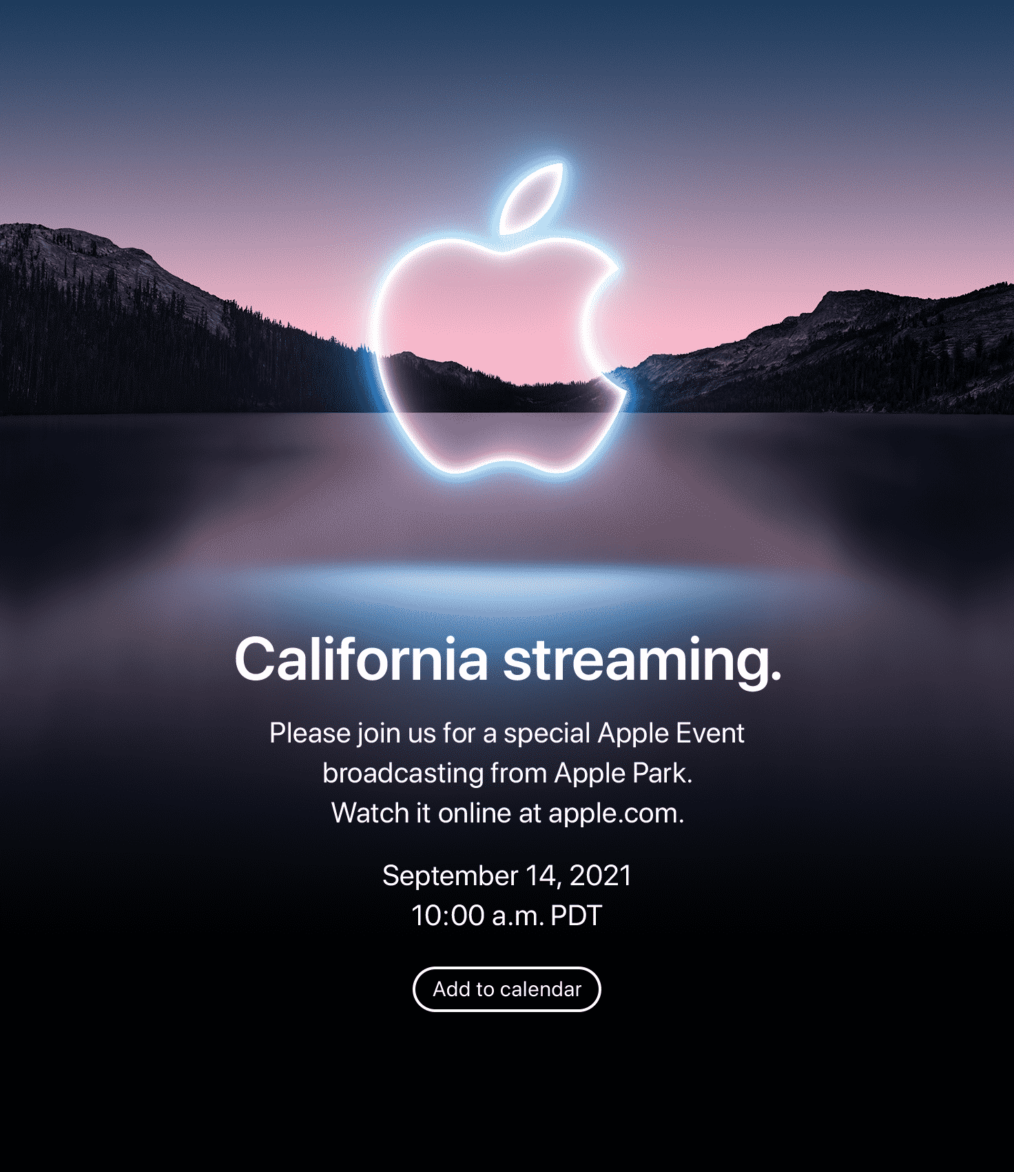 apple california streaming