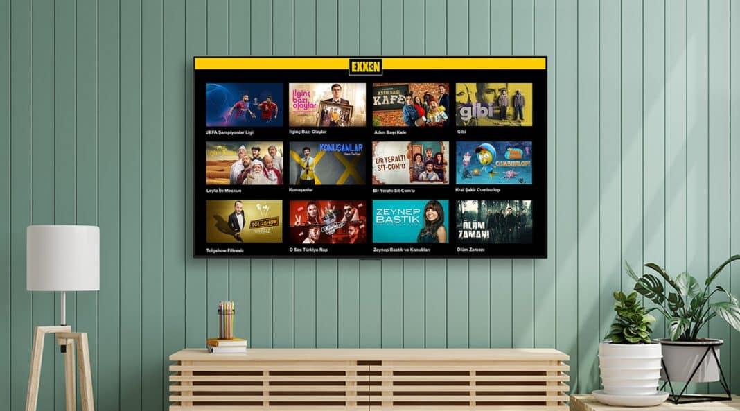 exxen lg smart tv webos