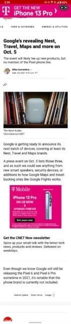 google 5 ekim etkinlik