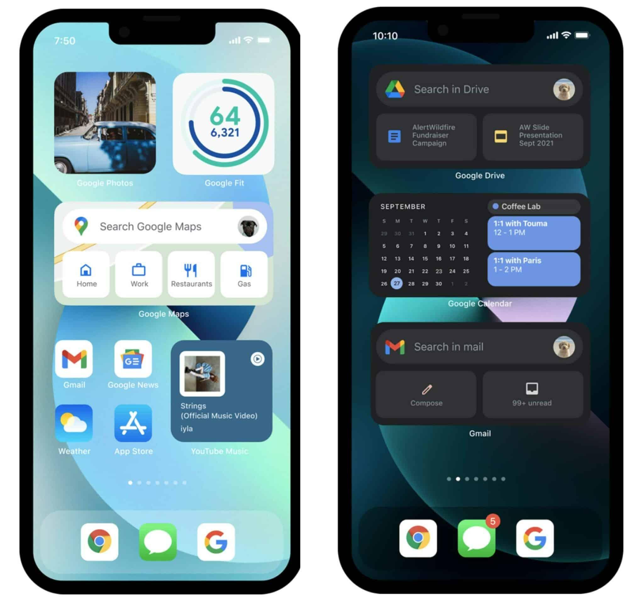 iphone 13 google araç takımları