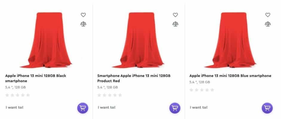 iphone 13 mini renk