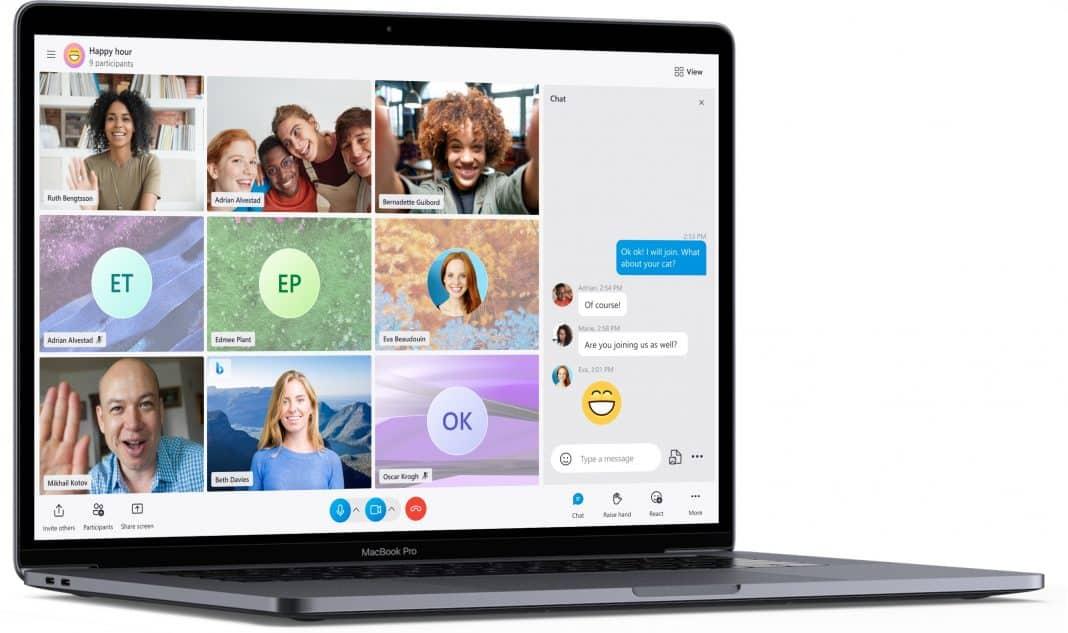 skype yeni tasarım