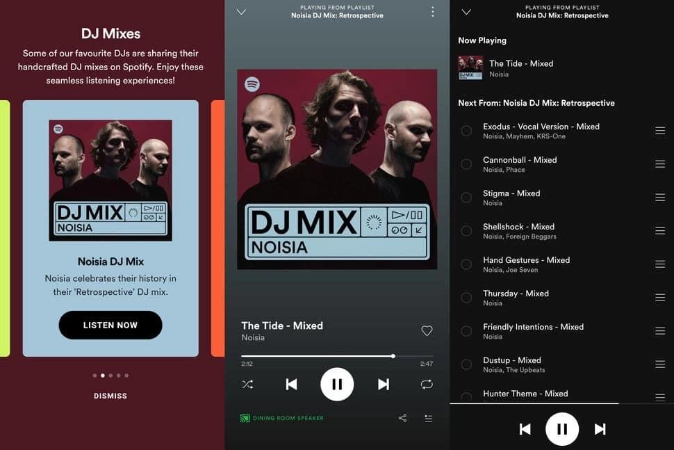 spotify dj mixleri