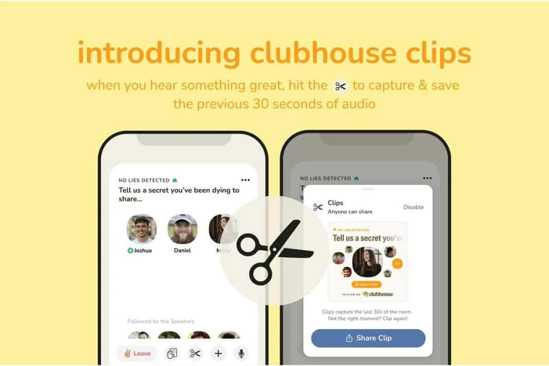 clubhouse sohbet kaydı