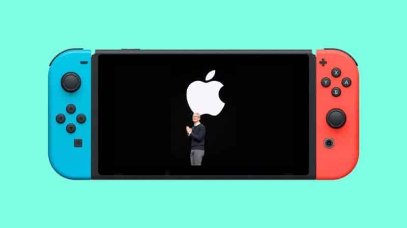 nintendo switch apple